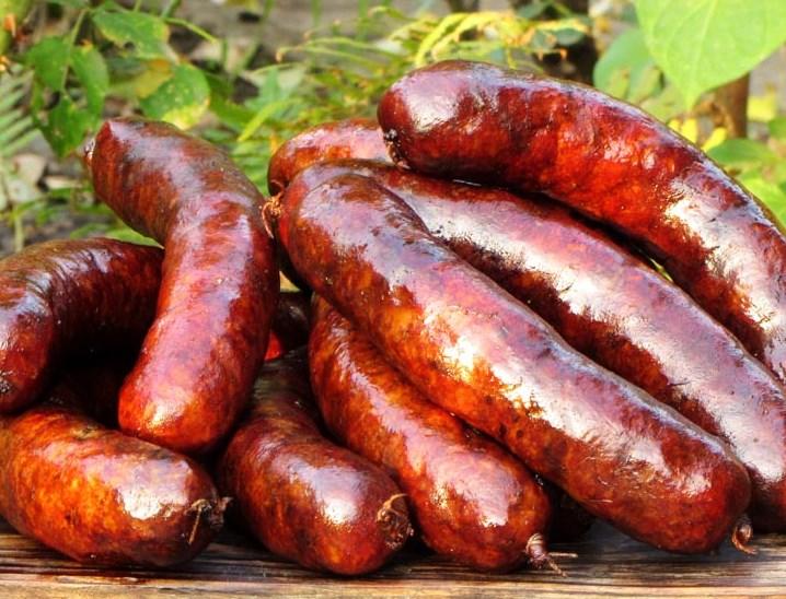 Колбаса горячего копчения в домашних условиях рецепт с фото 557