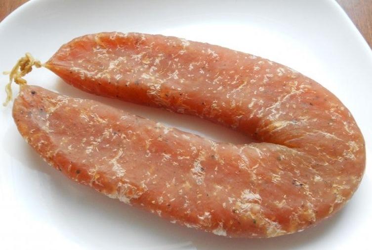 Сыровяленая колбаса в домашних условиях из курицы