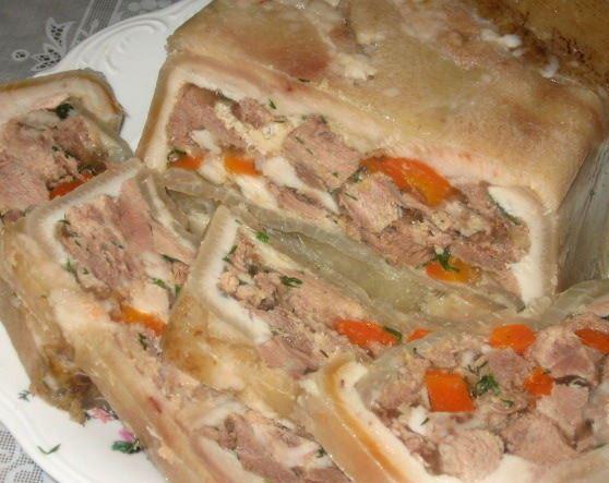 Холодец из рульки и свиных ножек рецепт с пошагово
